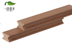 Solid plastic wood keel ridge keel 40x25mm plastic wood flooring accessories