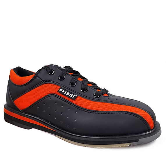 New products of the year! PBS professional bowling shoes sports tide special bowling shoes men's models ~ orange black
