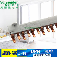 Schneider circuit breaker DPN double-input and double-out Original European import 24-circuit busbar DPN busbar