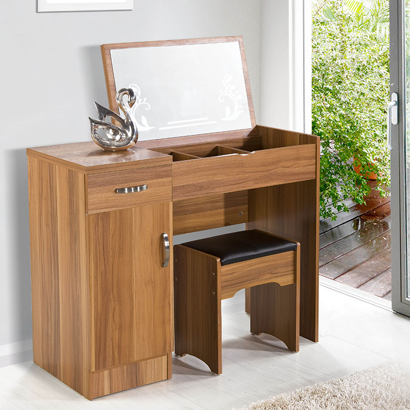 欧施洛 梳妆台卧室家具成套家具梳妆台简约梳妆台+凳组合SN-21