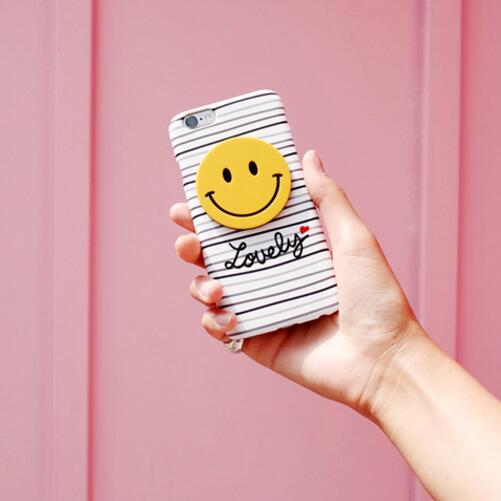 韩国进口正品新款可爱英文笑脸苹果iphone6s