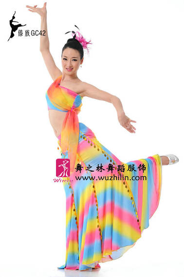 Ethnic dance costumes Minority performance costumes Stage costumes Dai costumes Dai costumes