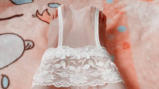 Men and women can wear * widened lace side waist full transparent lace panties stockings panties