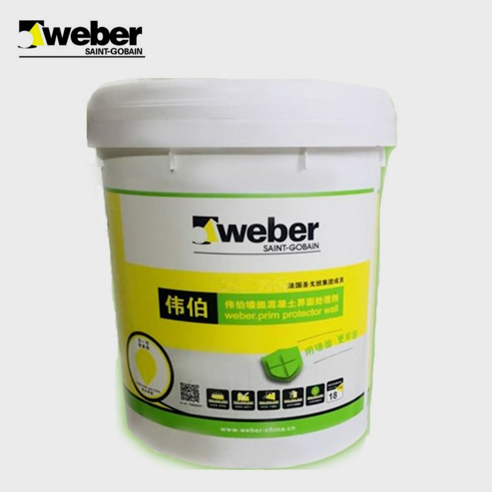 圣戈班伟伯 墙崮混凝土界面处理剂 18kg 白色液体界面