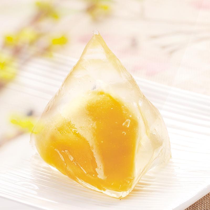 荣诚美食水晶粽冰粽香蕉牛奶味端午特产粽子零食糕点粽子60gX10只