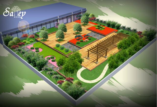 【莎莉花园】外观小图片v花园庭院设计(青城东渡海派苏州)别墅别墅花园玻璃图片