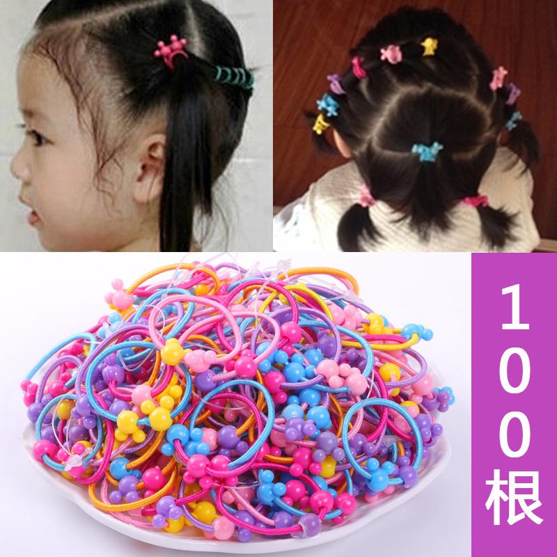 韩国儿童发绳发圈可爱女童扎头发橡皮筋宝宝头绳不伤发头饰发饰品