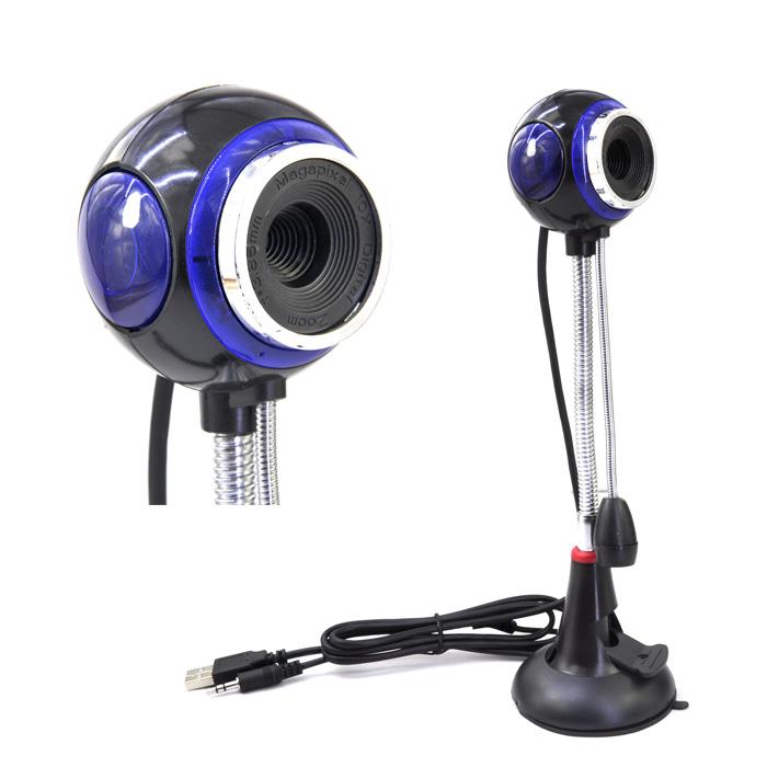 全新 炫魔摄像头 高清免驱 1200W 高清 带USB接口麦克风 一年质保