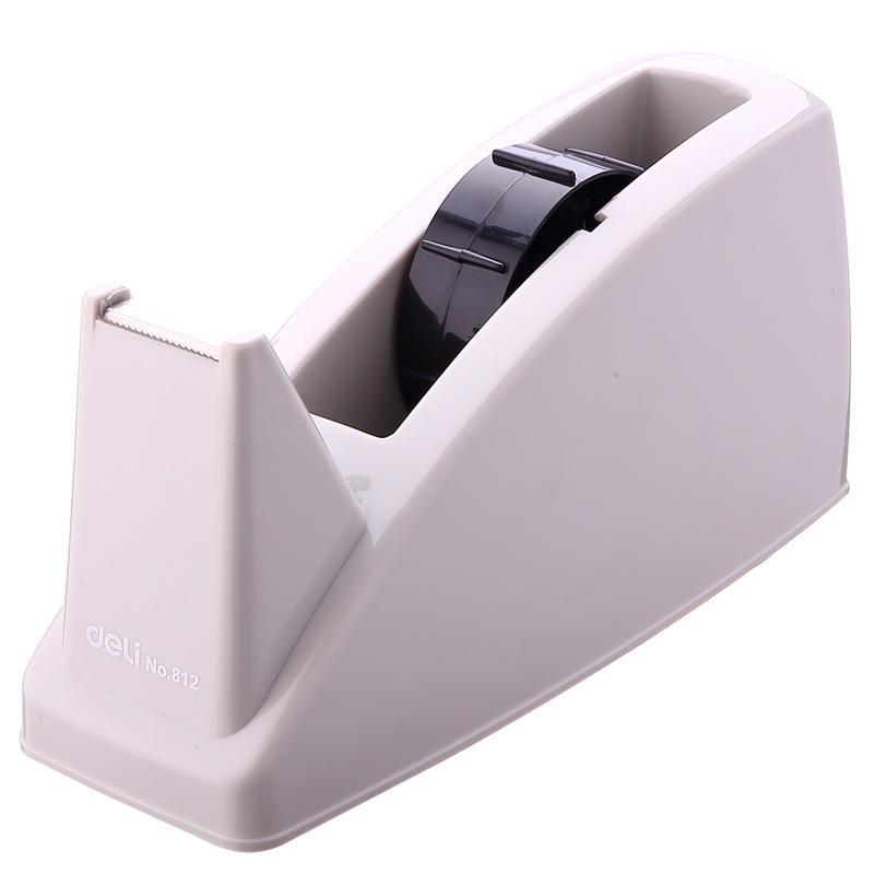 得力812 双用胶带座 大号胶带座 适用于宽度24mm胶带 胶带切割器