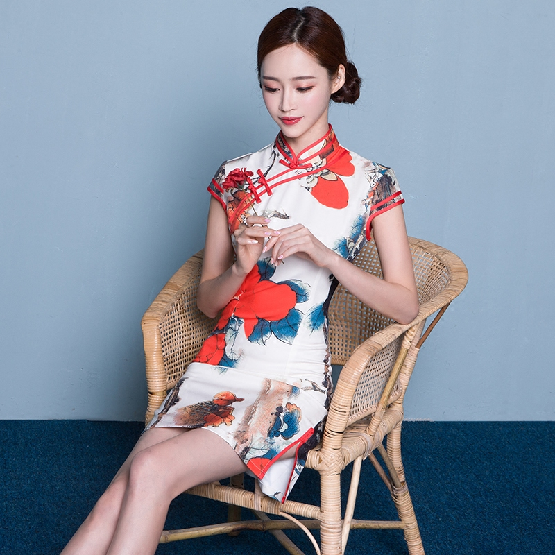 中国风旗袍