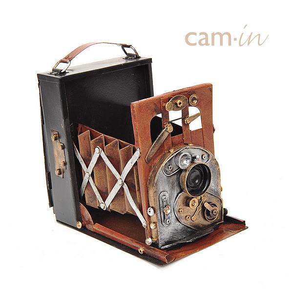 【cam-in】纯手工制作 复古装饰大画幅相机 cam5016