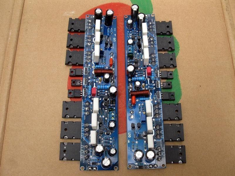 L10电路功放板 甲乙类  AB类大功率 300W (成品板)2片