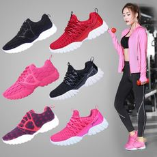 Fitness shoes women's autumn indoor sports shoes training shoes breathable gym running shoes yoga lightweight treadmill shoes