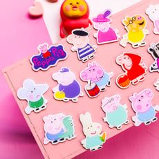 Piglet Badge Brooch Pin Cardigan Cartoon Student Gift Kindergarten Child Cute Scarf Button Pin