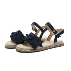 Big promotion activities June 18 88 yuan only this day 2018 new straw flat sandals