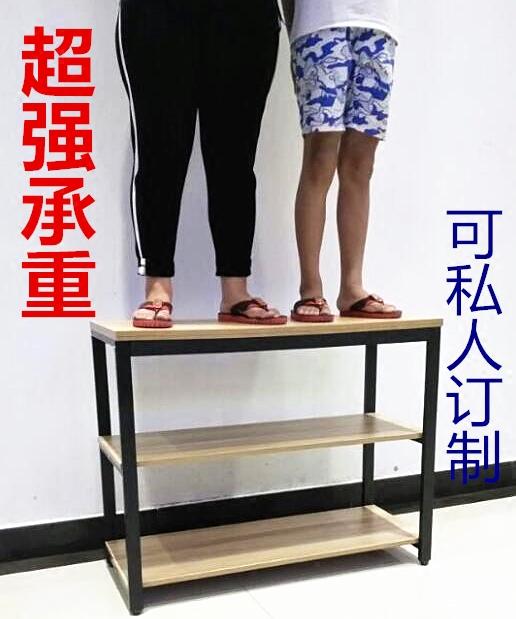 厨房桌子切菜桌餐桌简易家用厨房操作台长桌双层多层钢木桌可定制