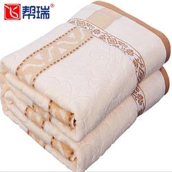 毛巾被纯棉双人单人儿童夏季空调毯子午睡毛毯盖毯全棉老式毛巾毯