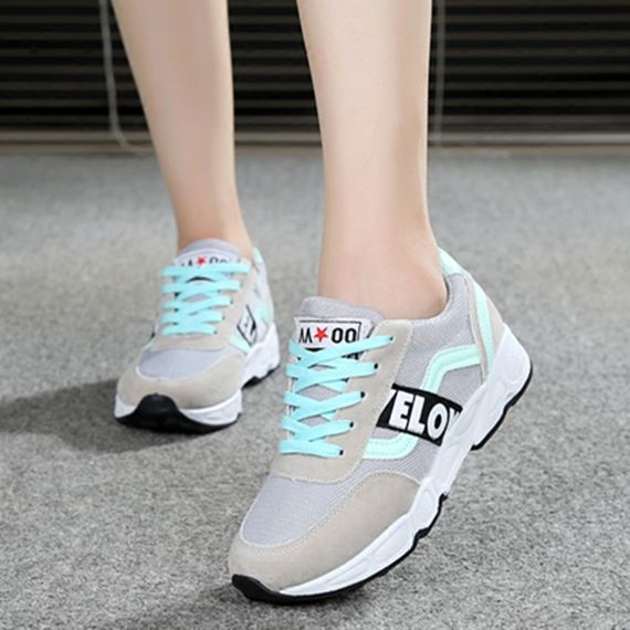 Autumn middle-aged elderly walking shoes mother shoes middle-aged sports shoes women's shoes soft bottom non-slip leisure travel running shoes