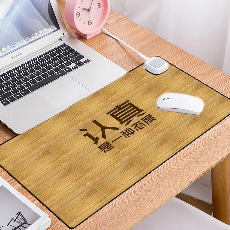 电脑暖桌宝办公室暖桌垫超大加热鼠标垫学生写字台桌面加热垫保暖