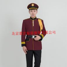 <Security> Security Spring and Autumn Set Sales Department Image Gang Dress Property Security Clothing Winter Hotel Security