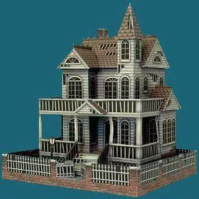房子模型图片 别墅