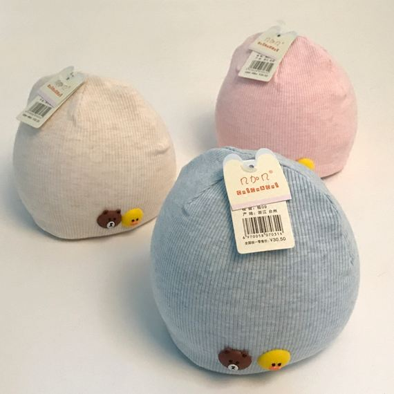 Spring and Autumn Baby Hat Newborn 0-3-6-12 months fetal cap cotton thin section boys and girls newborn baby hat