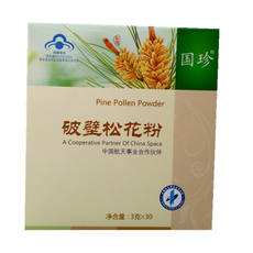 With QR code with anti-counterfeiting Guozhen brand broken wall pine pollen 3g / bag * 30 bags of genuine