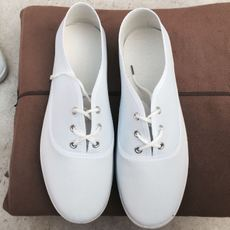 Bai Xiao shoes fun shoes white fun shoes white shoes unisex funeral shoes Xiaoqing shoes white shoes men