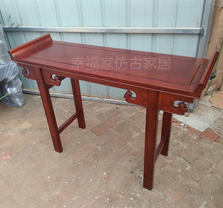 特价老榆木翘头条案条几佛桌玄关桌香案供台国学桌书法桌画案