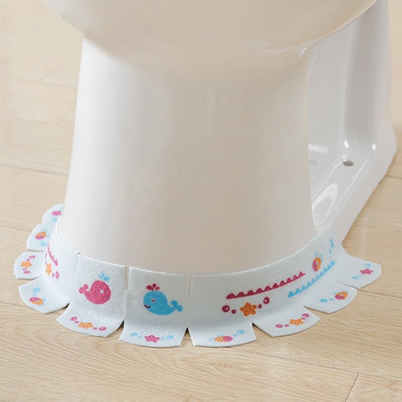创意水槽防水贴马桶防污贴纸浴室卫生间缝隙贴画厨房自粘静电墙贴