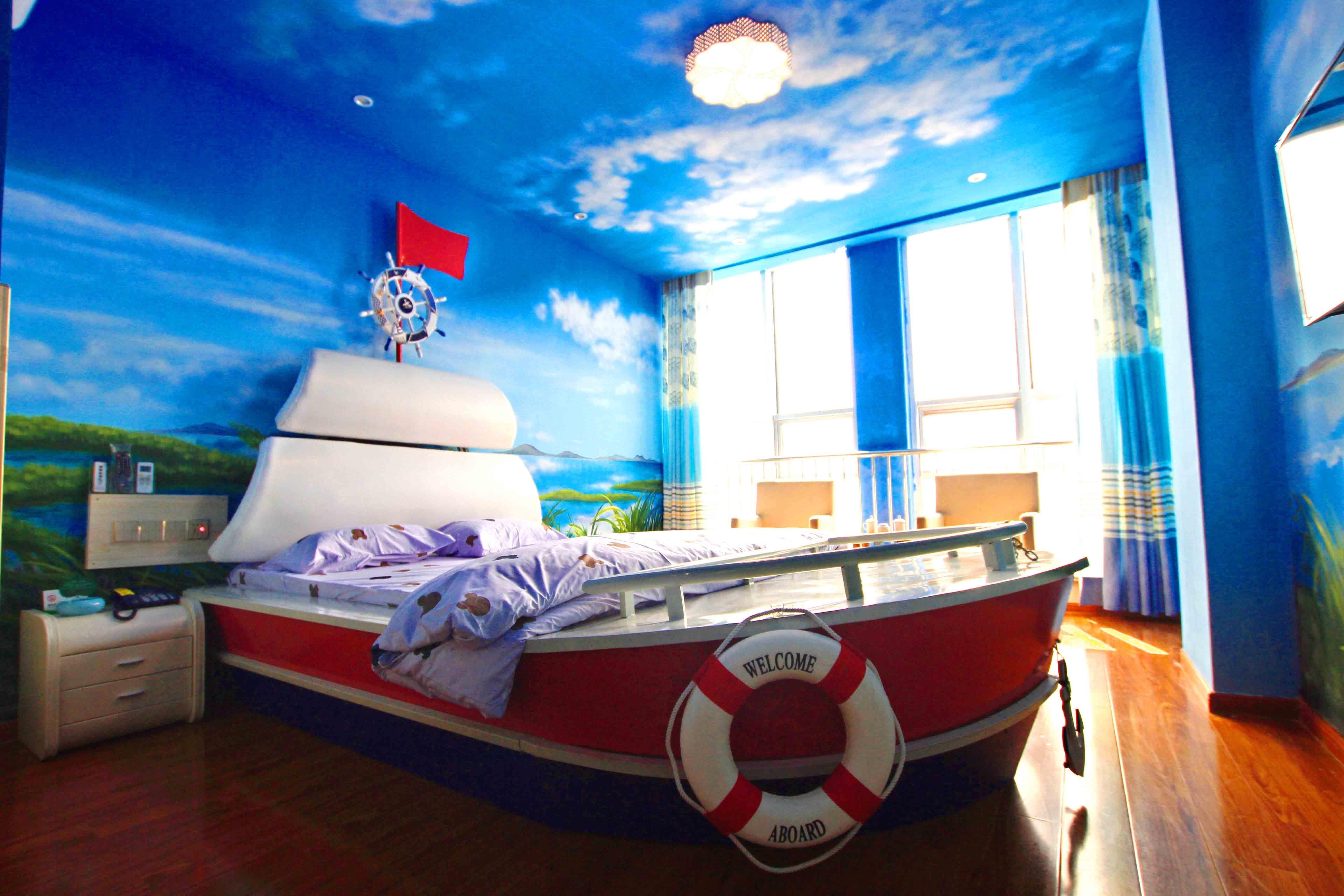 潍坊舜邦酒店时尚情趣主题圆床房(智,情趣型)走秀的内衣秀商务最早图片