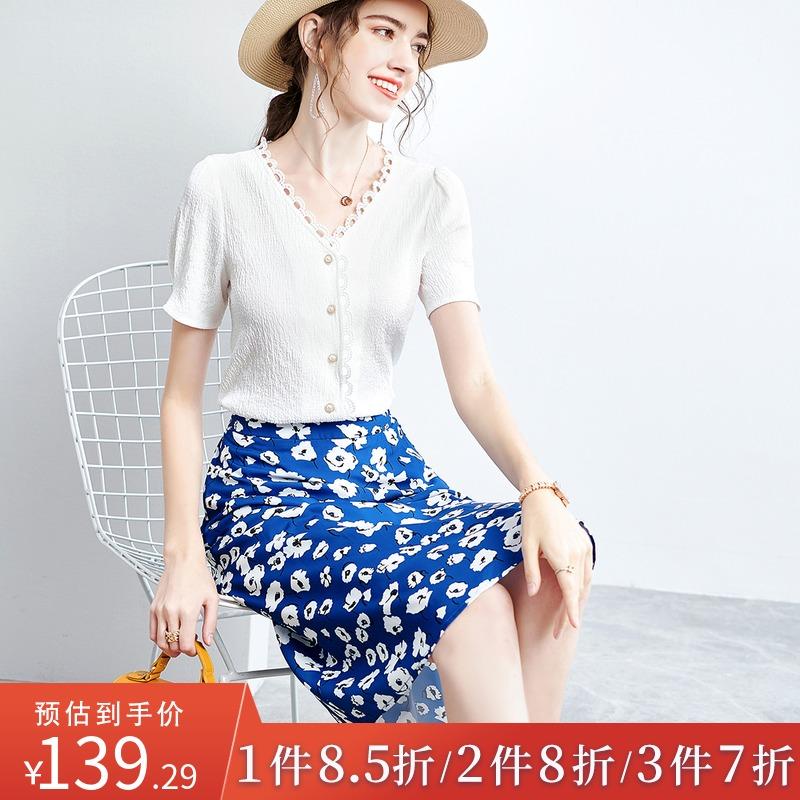 优雅气质女装套装夏