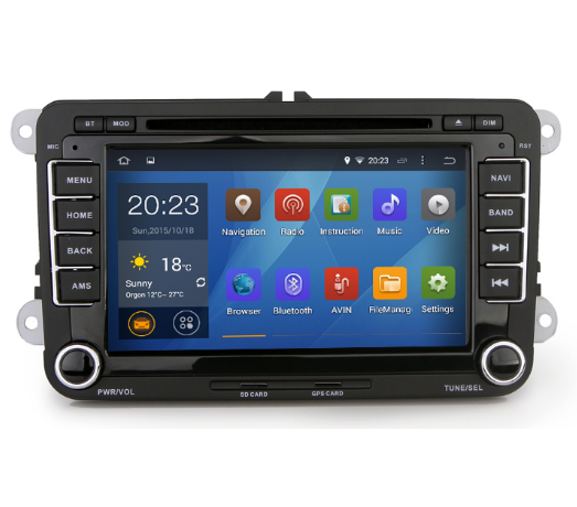 Quad Core Pure android 4.4.4 Car DVD GPS for Golf 6 Polo Passat CC Jetta Tiguan Touran EOS Sharan Scirocco caddy 1.6G Cpu