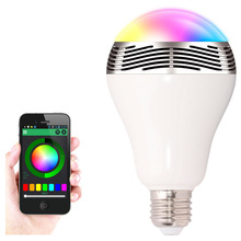 3w Bluetooth speaker led bulb with Smart phone APP controlled