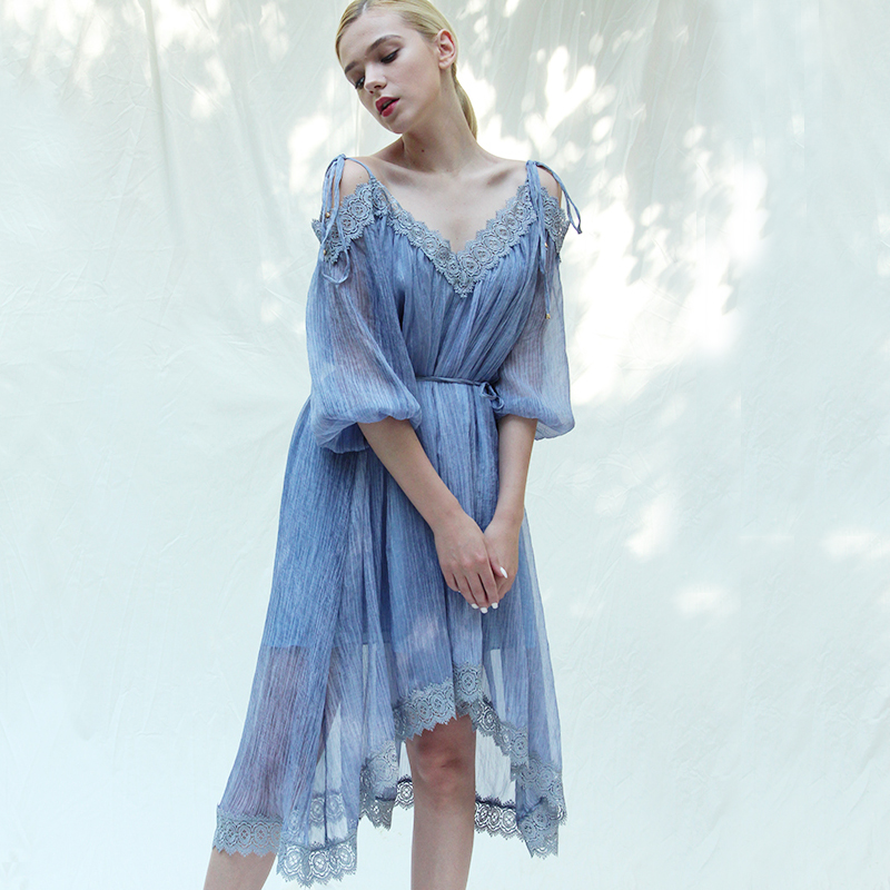 连衣裙,春夏变美就靠它了