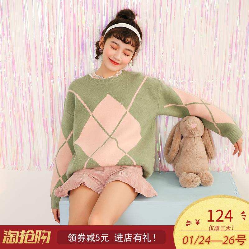 青春少女毛衣,可爱甜美风!