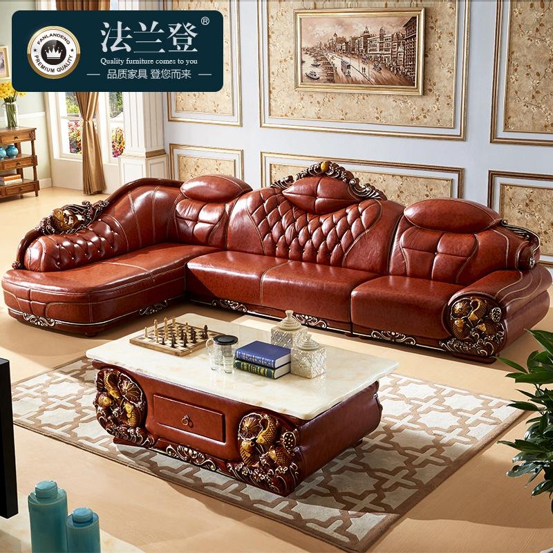 欧式真皮沙发--选择的秘密图片