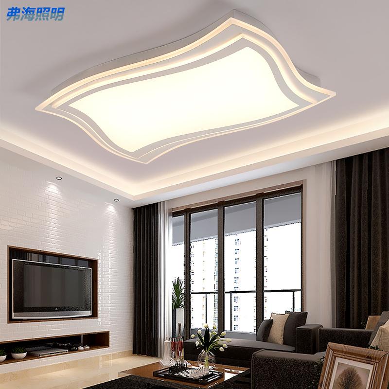 长方形LED吸顶灯图片