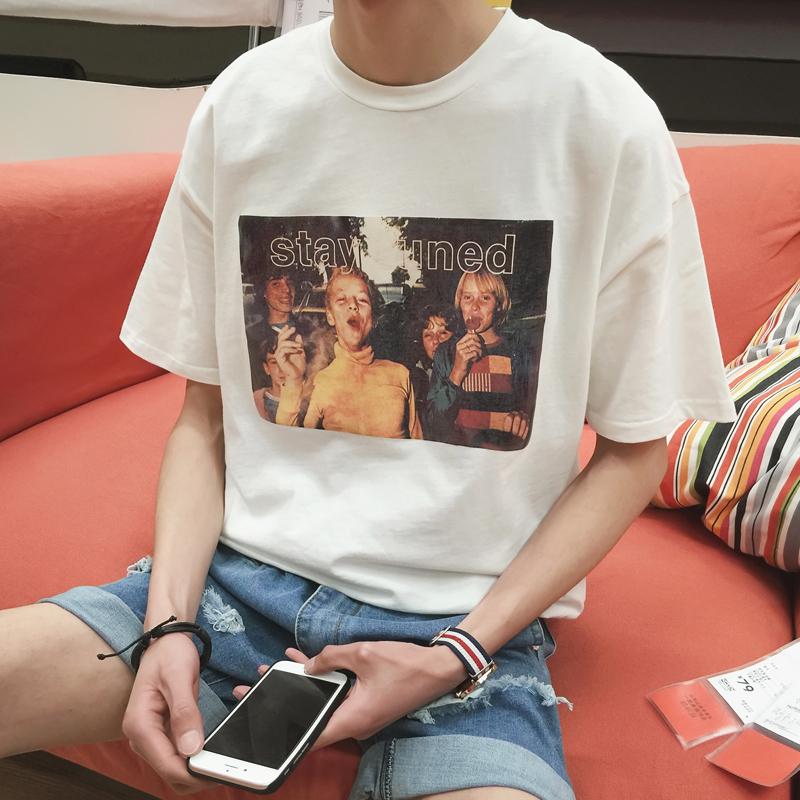 学生党应该如何搭配T恤?好看还不土!