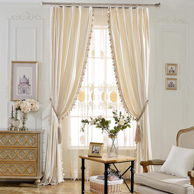 传统窗帘已经过时,搭配窗纱才更有格调