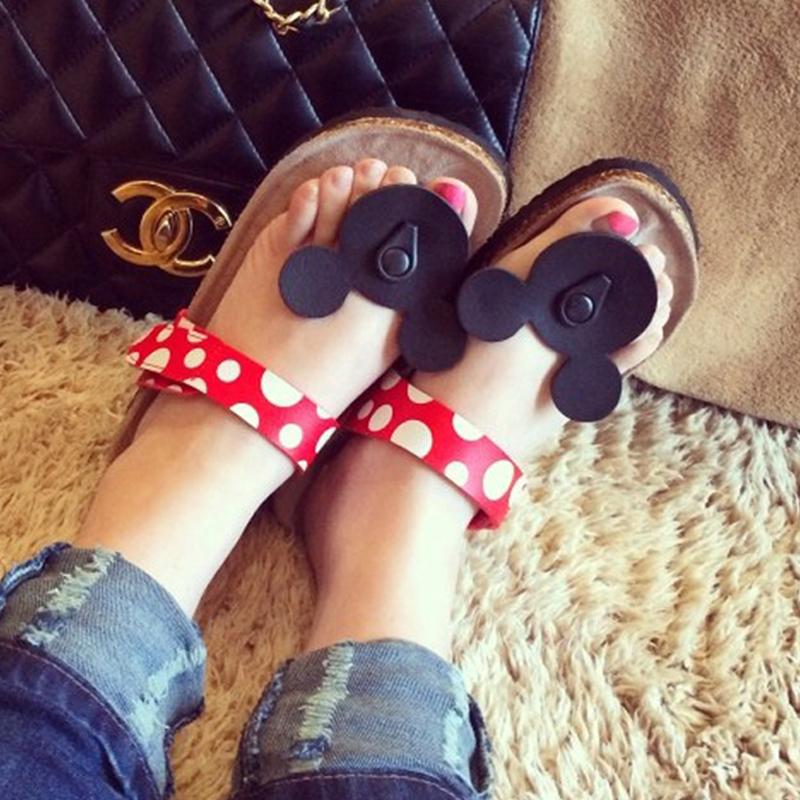 夏季拖鞋女人字拖女士沙滩鞋韩版可爱凉拖软木凉拖鞋