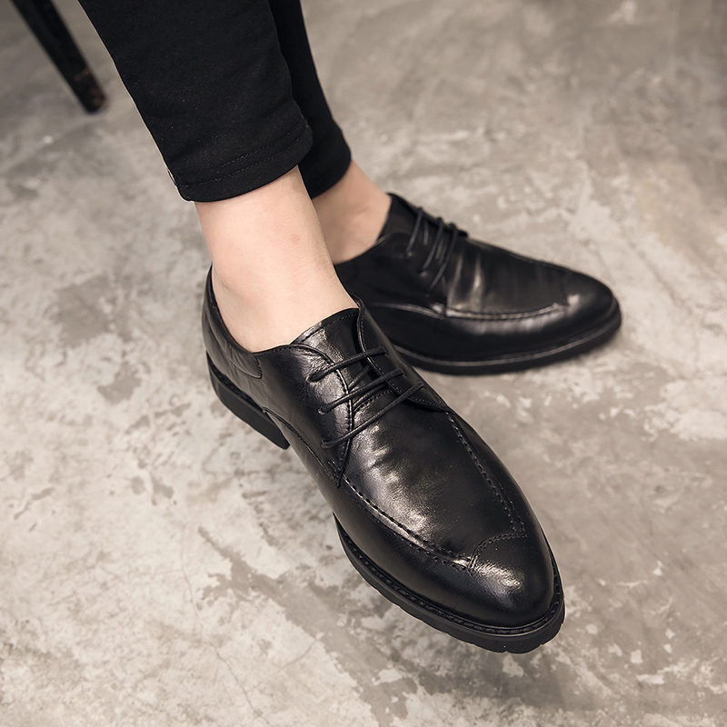 穿男休闲皮鞋,将优雅男士的帅气一步即现