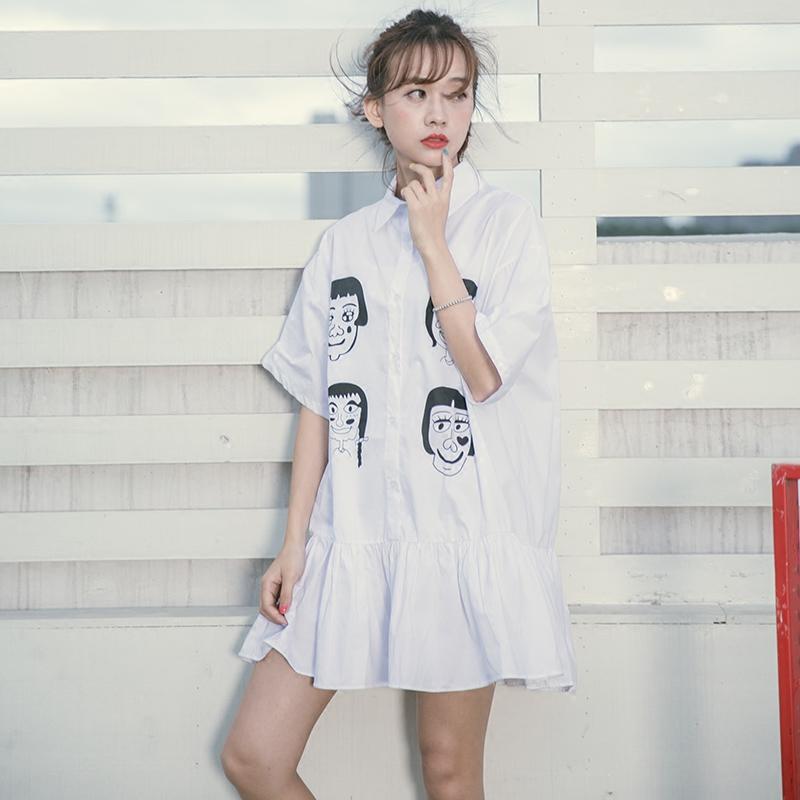 学院女神和白领OL都必败的衬衫裙