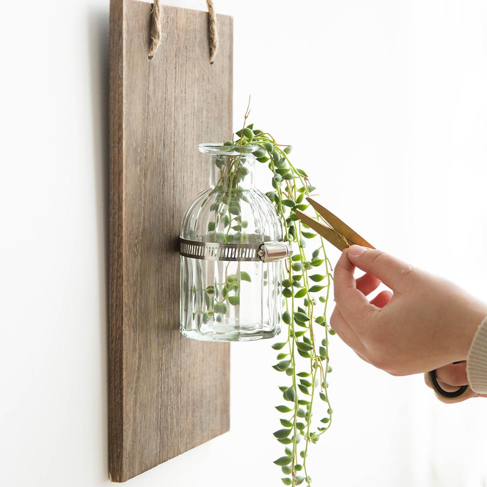创意满分的花器,让植物甘为绿叶