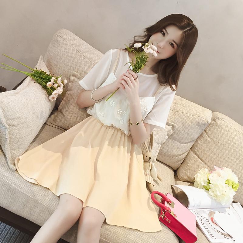 夏季新款连衣裙,让你瞬间变韩系萌妹子
