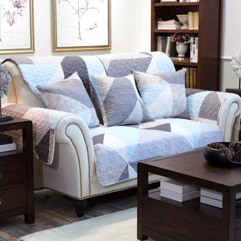 简主义全棉布艺沙发垫坐垫沙发套盖巾防滑坐垫定做-客厅的新宠 沙