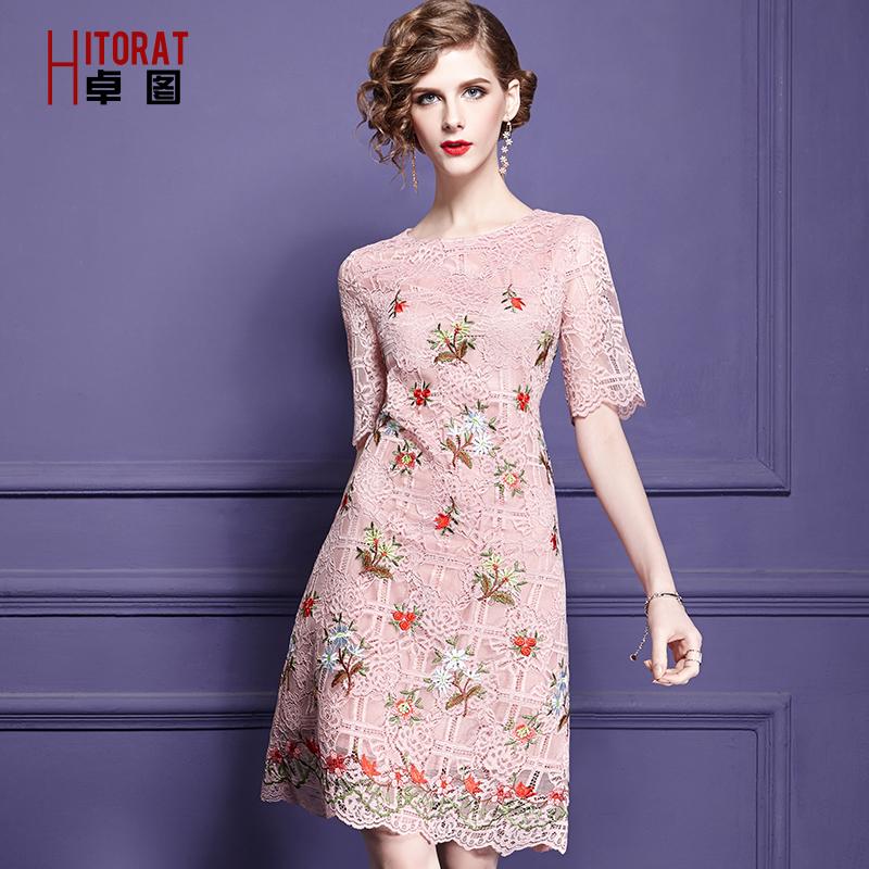 这个春季,刺绣裙如约而至,只为你的青睐