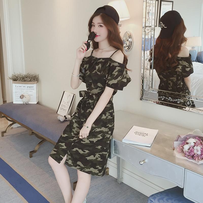 韩系风养成记,赐你一袭温柔连衣裙