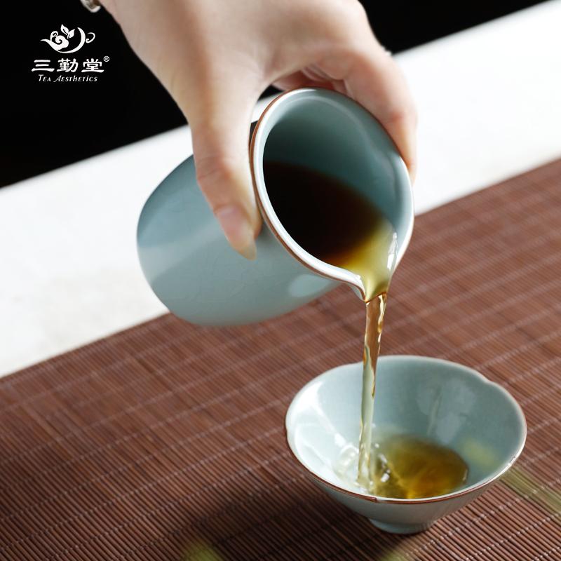 喝茶不用公道杯,缺少一份情趣