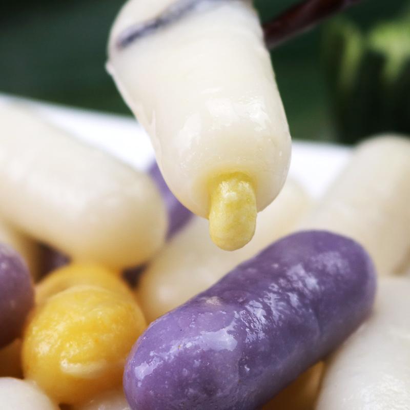 韩国芝士年糕火锅套餐夹心南瓜/芝士/紫薯多种口味混搭韩式小年糕